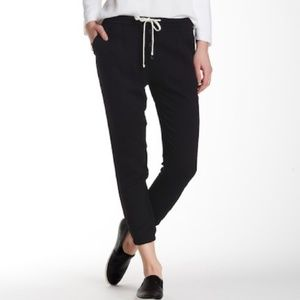 James Perse Button Fly Crepe Pant
